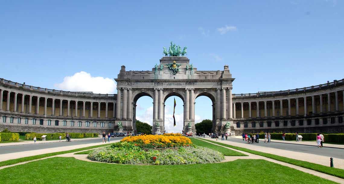 Jubelpark - Brüssel Sehenswürdigkeit Parc Du Cinquantenaire